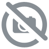 Hazelwood necklace with white jade tinted salmon and hematite